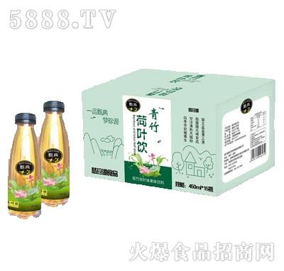 甄典青竹荷叶饮饮品450mlx15瓶