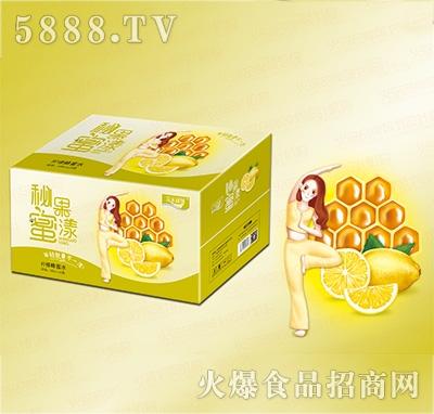 汉水绿梦柠檬蜂蜜水400mlx20瓶