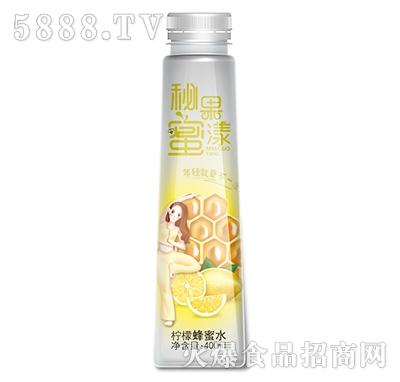汉水绿梦柠檬蜂蜜水400ml瓶