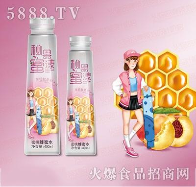 汉水绿梦蜜桃蜂蜜水400ml