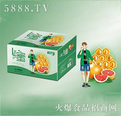 汉水绿梦柚子蜂蜜水400mlx20瓶