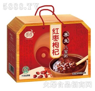 维维红枣枸杞养生八宝粥320gX8