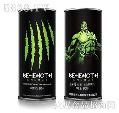 巨兽能量维生素饮料245ml