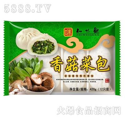 知味观菇菜包420g产品图