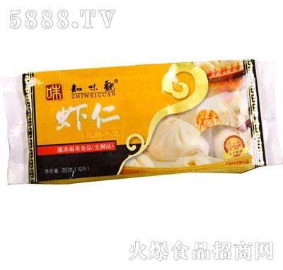 知味观虾仁三鲜小笼250g
