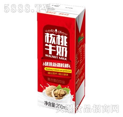 益园农场核桃牛奶复合蛋白饮品250ml