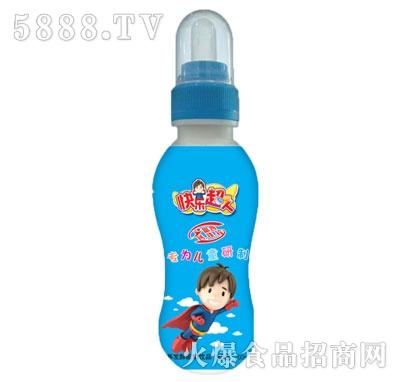 快乐超人营养发酵酸奶饮品200ml蓝瓶