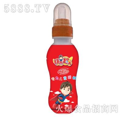 快乐超人营养发酵酸奶饮品200ml红瓶
