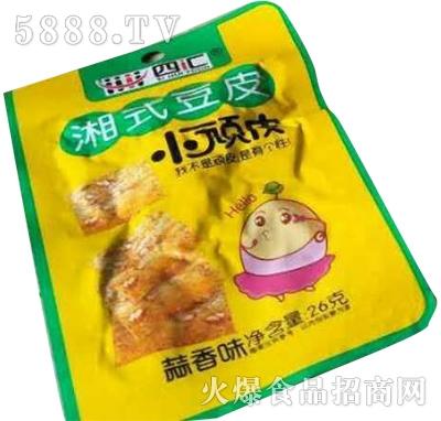 四汇湘式豆皮蒜香味26g