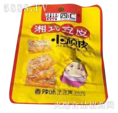 四汇湘式豆皮香辣味26g