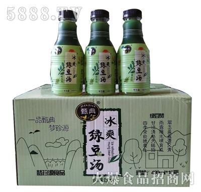 甄品冰爽绿豆汤风味饮料480mlx15瓶产品图