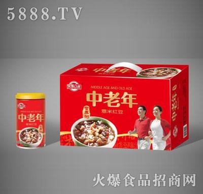 全福八宝中老年薏米红豆营养粥礼盒