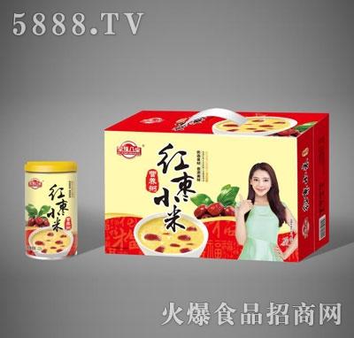 全福八宝红枣小米营养粥礼盒