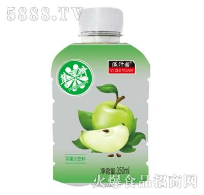 溢汁园苹果汁350ml