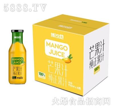 博饮芒果汁910mlX6