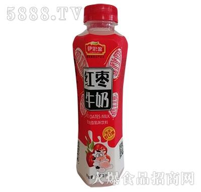 伊思源红枣牛奶瓶装500ml