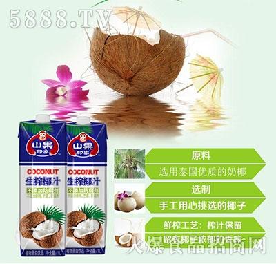 山果印象生榨椰子汁1L