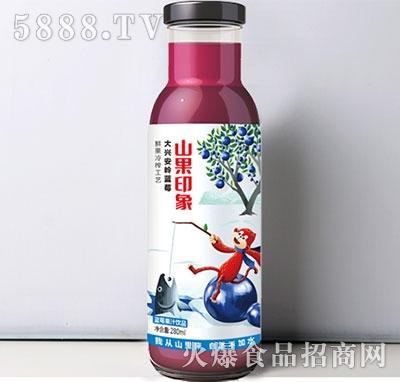山果印象蓝莓汁饮料280ml