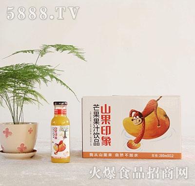山果印象芒果汁饮料280mlx12瓶