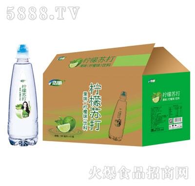浩明柠檬苏打500mlX15