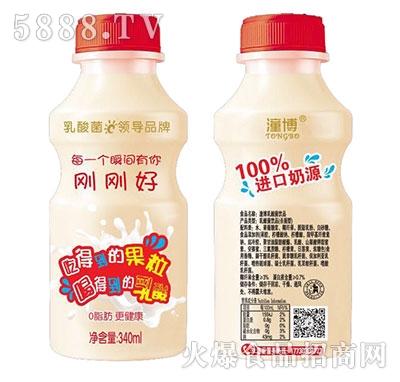 潼博乳酸菌饮品340ml(红)