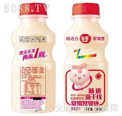 潼博乳酸菌饮品草莓味340ml