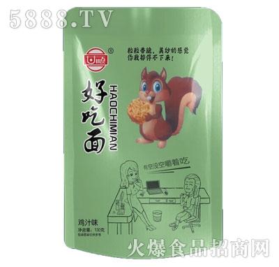 甘顺好吃面鸡汁味130g