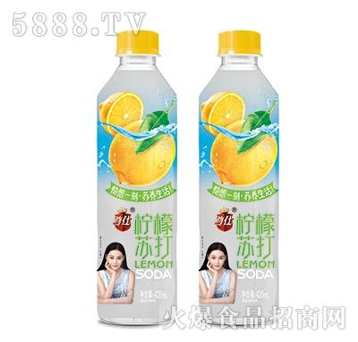 尊仕柠檬苏打水420ml产品图