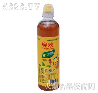 轻欢港式柠檬茶500ml
