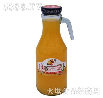 熟了芒果果汁