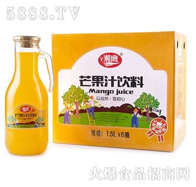 湘鹰芒果汁1.5Lx6瓶手柄