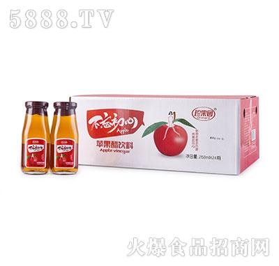 珍果园不忘初心苹果醋268mlx24瓶