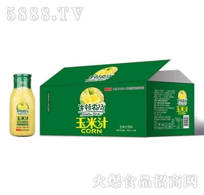牛顿牧场玉米汁500mlX15