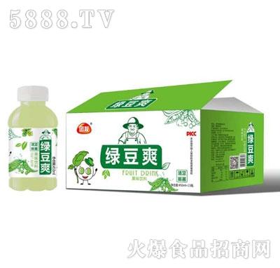团友绿豆爽450mlX15