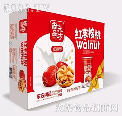 东方尚品红枣核桃240mlx20罐