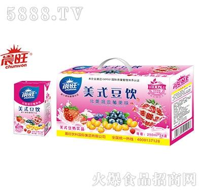 晨旺美式豆奶250mlx24盒