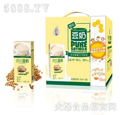 宜养香纯豆奶礼盒250mlx12盒