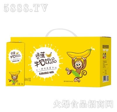 宜养香蕉牛奶250MLx10盒
