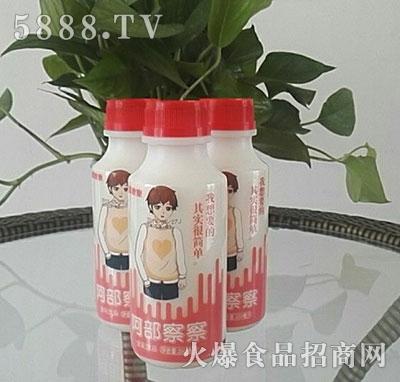 阿部察察含乳饮品(男生瓶)