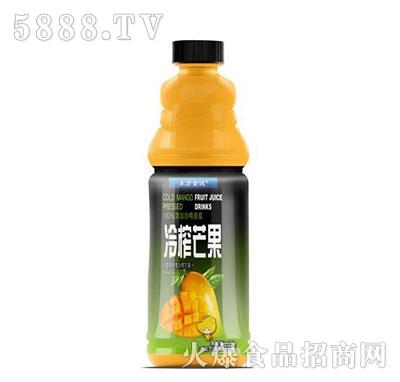东方量健冷榨芒果果汁饮料1.25L