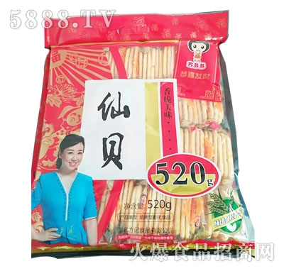 方多多仙贝焙烤型膨化食品520g