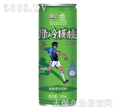 绿岭核桃乳植物蛋白饮料240ml