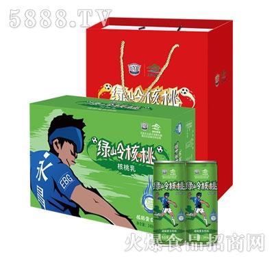 绿岭核桃乳系列产品