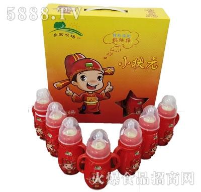 益园农场小状元红瓶儿童饮品箱装