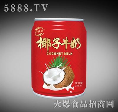 舒乐美椰汁牛奶248ml