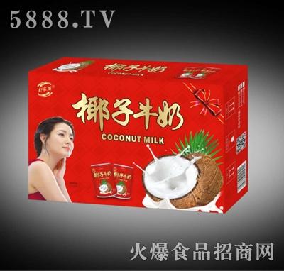 舒乐美椰汁牛奶248ml箱装