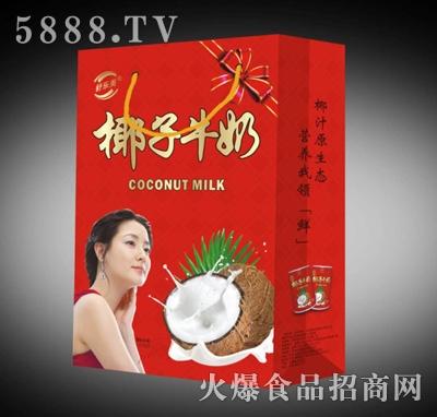 舒乐美椰汁牛奶248ml礼盒装