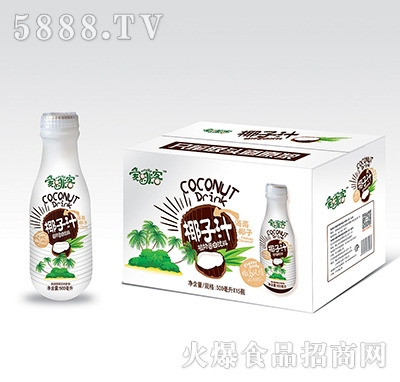 爱啡客椰子汁500ml
