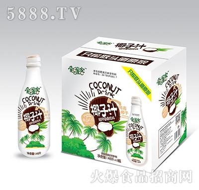 爱啡客椰子汁1.48升x6瓶