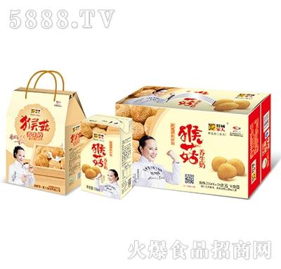 蓉城家人猴菇养生奶三件装